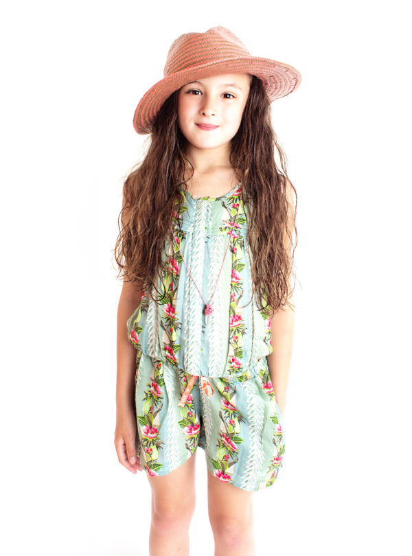 Scotch Rbelle Kids Floral Playsui