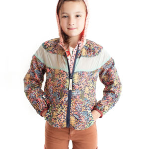 Scotch Rbelle Kids flowery Windbreaker