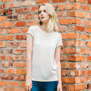 Intropia White Cotton Oversized tee
