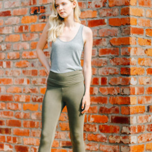 Rabens Caper Green Leggings