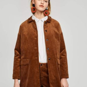 Bellerose Loumi Brown Cord Coat