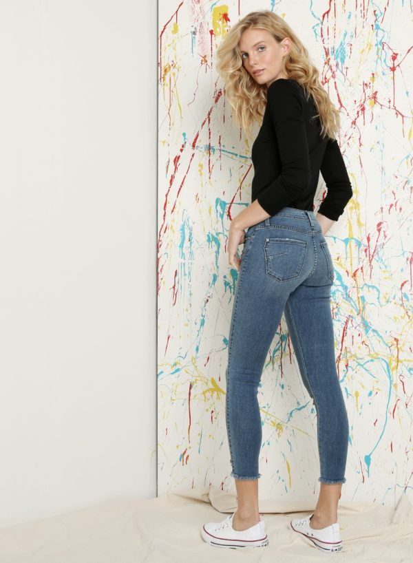 James Catalyst clean twiggy jeans back