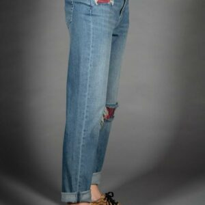 Five Tara Patch Jean