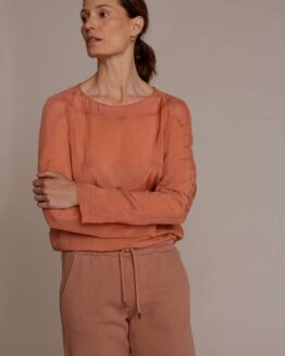 Humanoid Noka Top in Red Clay