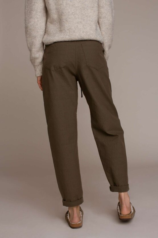 Humanoid Peggy Barrel Leg Trousers