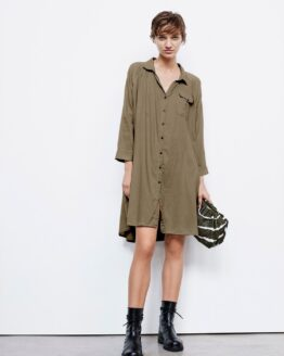 Rabens Saloner Cindi Shirt Dress
